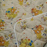 Детское шерстяное стеганное одеяло!