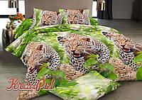 Комплект постельного белья ранфорс 150 х 220 животные