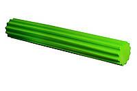 Йога роллер 90х15 см PowerPlay зеленый
