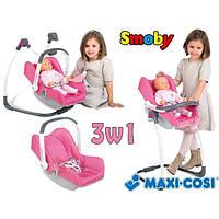 Набор для куклы Кресло 3 в 1 Maxi Cosi Smoby 240226