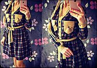 Красивое модное платье в расцветках VV-08.078