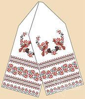Заготовка для вишивки рушника ГАБАРДИН