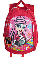 """Школьный рюкзак для девочек """"Monster High"""". Ортопедическая спинка. Высокое качество. Стильный. Код: КДН543"""