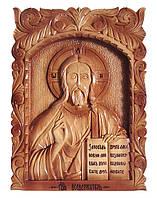 """Икона резная,ручная работа """"Иисус Христос"""", фото 1"""
