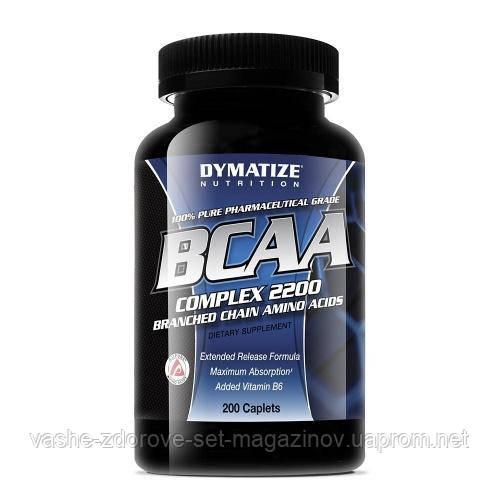 Аминокислоты BCAA Dymatize 200 табл - Интернет-магазин медтехники и товаров для здоровья в Киеве