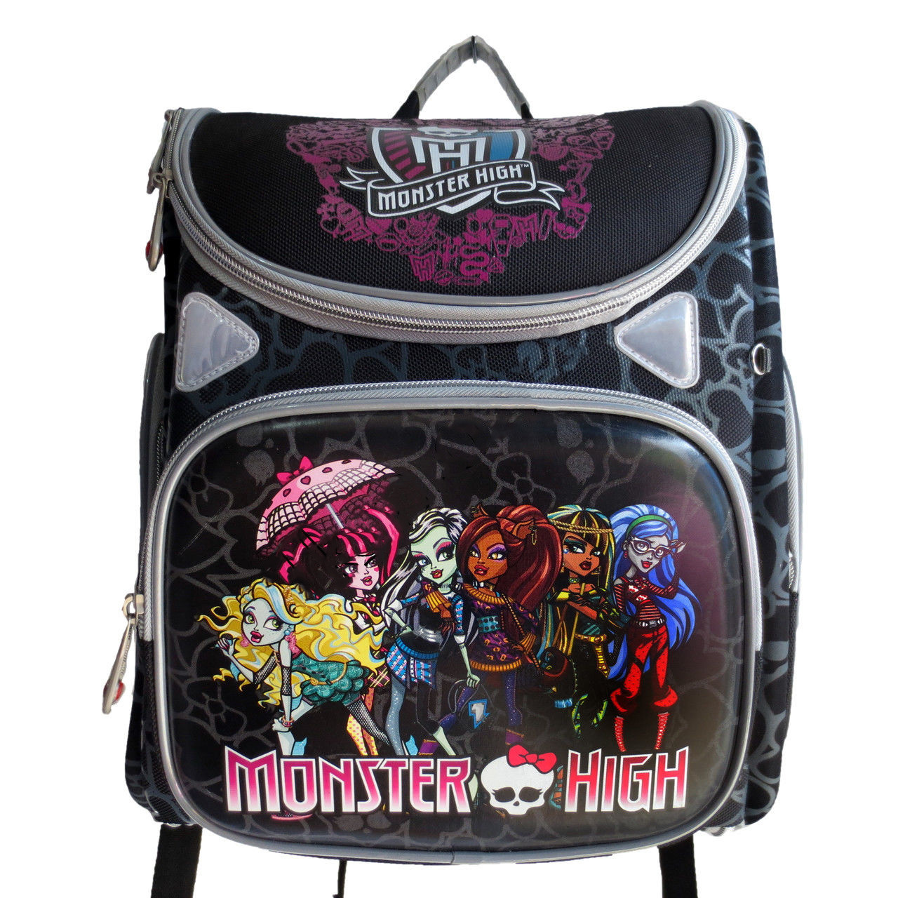 474b001d4dce Яркий рюкзак для девочек. Школьный ранец. Ортопедический рюкзак. Хорошее  качество. Купить онлайн. Код: КДН544