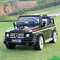 """Электромобиль джип 12V AMG G55 Mercedes """"Gelandewagen Черный"""""""