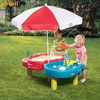 Детская игровая Песочница водный Столик Тихая гавань Little Tikes 401L