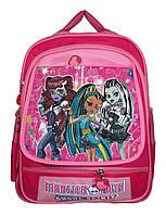 """Оригинальный детский рюкзак """"Монстер Хай"""". Ортопедический ранец для девочек. Высокое качество. Код: КДН548"""