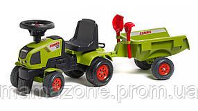 Трактор Каталка с Прицепом Claas Axos Falk 1012C