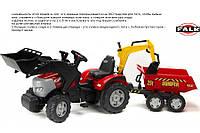 Трактор педальный с двумя ковшами 3-7 лет McCormick Falk 1030W