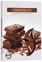 Ароматические свечи таблетки BISPOL - Шоколад №P15-55