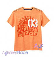 Gymboree Футболка оранжевая, Нептун