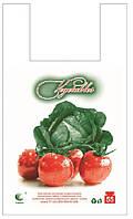 Пакет майка 30*55 Овощи 100шт/уп