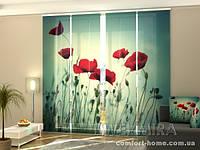 Панельная штора Красота комплект 4 шт