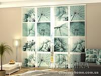Панельная штора Одуванчики комплект 4 шт