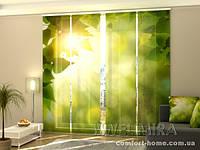 Панельная штора Летнее солнце комплект 4 шт