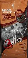 Корм  Беттер  тунец и лосось для котов , 0,8 кг Bet002