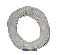 """Шнур полиамидный бытовой плетенный мягкий d=8,0 (100м) ТМ """"Ткач"""""""