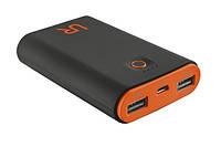 Дополнительная батарея TRUST URBAN REVOLT Cinco Powerbank 7800 black/orange