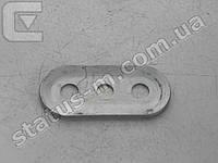Пластина направляющей рулевой рейки Daewoo Lanos упорная (пр-во FSO)