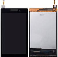 Дисплей (экран) для телефона Lenovo Tab 2 A7-10, Tab 2 A7-20F + Touchscreen Original Black
