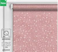 Рулонная штора Радиант Серебряная роза 95 см