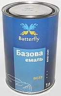 Автоэмаль базовая (металлик) Butterfly 1 л LADA 311, 1000, Краска, Металлик, Банка