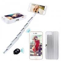 Stikbox 3 в 1 - селфи-палка чехол подставка монопод + пульт Bluetooth для Iphone 6 , фото 1