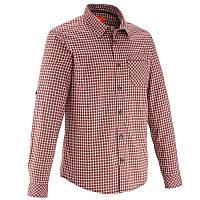 Рубашка мужская Quechua ARPENAZ 100 W красная