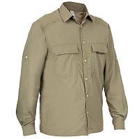 Рубашка мужская Solognac TAIGA 300 хаки