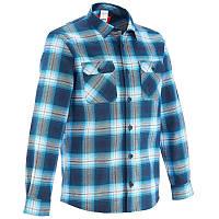 Рубашка мужская Quechua ARPENAZ 500 W синяя