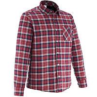 Рубашка мужская теплая Quechua ARPENAZ 900 W красная