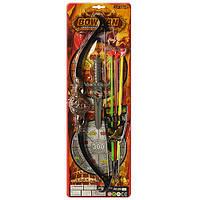 """Набор оружия """"Рыцарь"""" 208-60, лук 56 см, стрелы-присоски 3шт, нож 23см"""