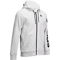 Толстовка мужская, джемпер Adidas LINEAR серый