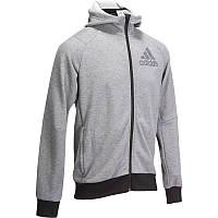 Толстовка мужская, джемпер Adidas PRIME серый
