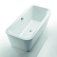 Ванна акриловая отдельностоящая Devit GREDOS + ножки, сифон и слив-перелив 18080129