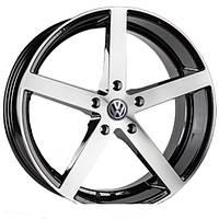 Литые диски Replica Volkswagen (JT1568) R20 W9 PCD5x130 ET40 DIA71.6 (BM)