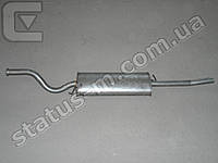Глушитель ВАЗ 2110 алюмин. до 2007 (пряник) (пр-во Польша,Polmostrow)