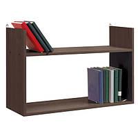 Полка для книг Student Dream 75х50х25 см венге