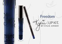 Kylie Jenner Матовые помада + карандаш USA Freedom