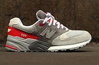 "Кроссовки New Balance 999 ""Grey/Red"""