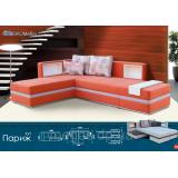 Угловой диван Париж (пружинный блок)