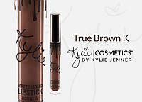 Kylie Jenner Матовая помада USA (lipstick) TRUE BROWN K SKYLIE
