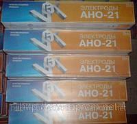"""Электроды """"ВИСТЕК"""" АНО - 21 , диаметр 3 мм ( 5 кг/уп. )."""