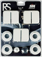 Комплект для подключения радиаторов SIRA RS 1/2