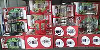 Заварники для чая в металлическом и пластиковом подстаканнике