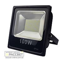 Светодиодный LED прожектор Maysun 100W 6500K IP66 с увеличенной светоотдачей 7500Lm