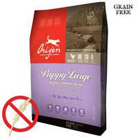 Беззерновой сухой корм для щенков крупных и гигантских пород Ориджен Паппи Orijen Puppy Large 13 кг.