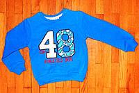 Детский джемпер для мальчика Стайл48 синий 1-4 лет
